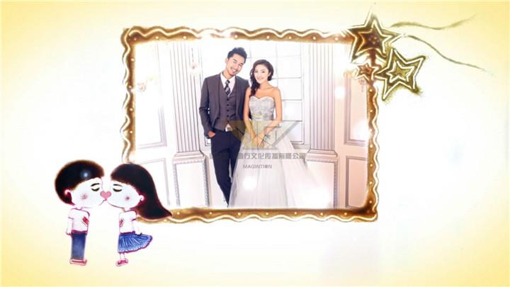 动态婚礼相框